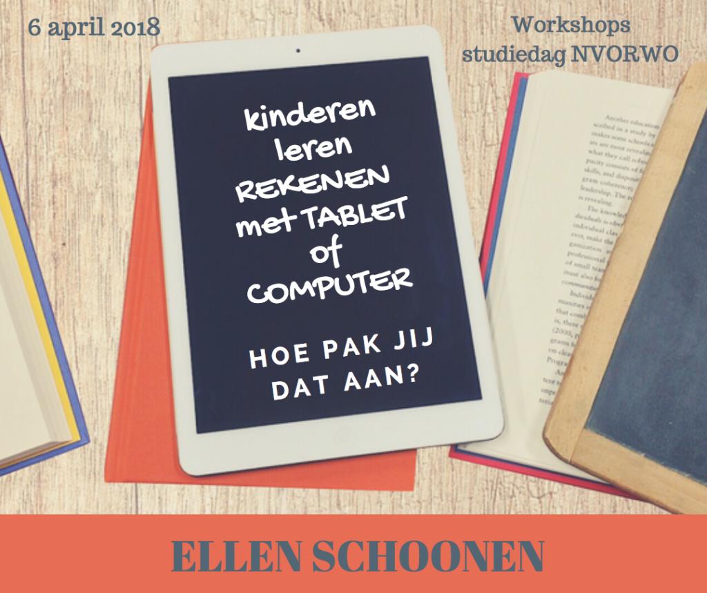 studiedag nvorwo - Ellen Schoonen - rekenen met tablets en computers
