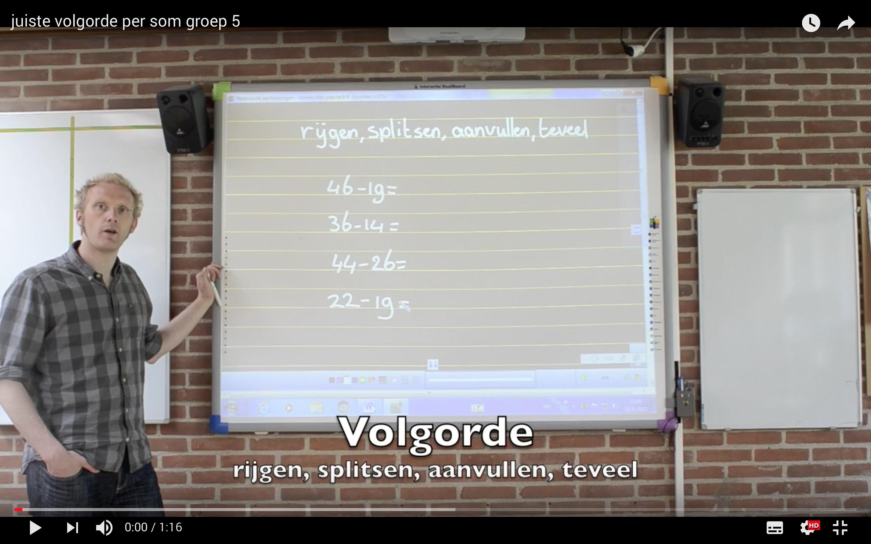 Flipping the classroom met rekenen - NVORWO subsidieproject