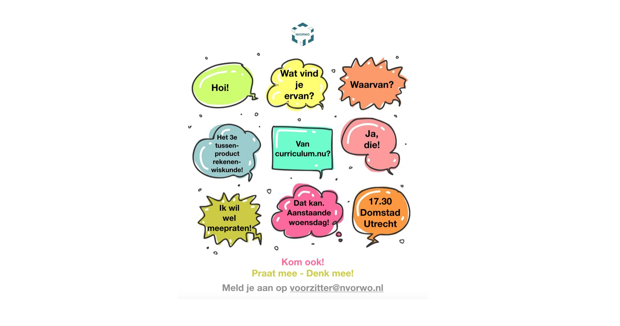 feedback-bijeenkomst 3e tussenproduct rekenen-wiskunde curricum.nu NVORWO