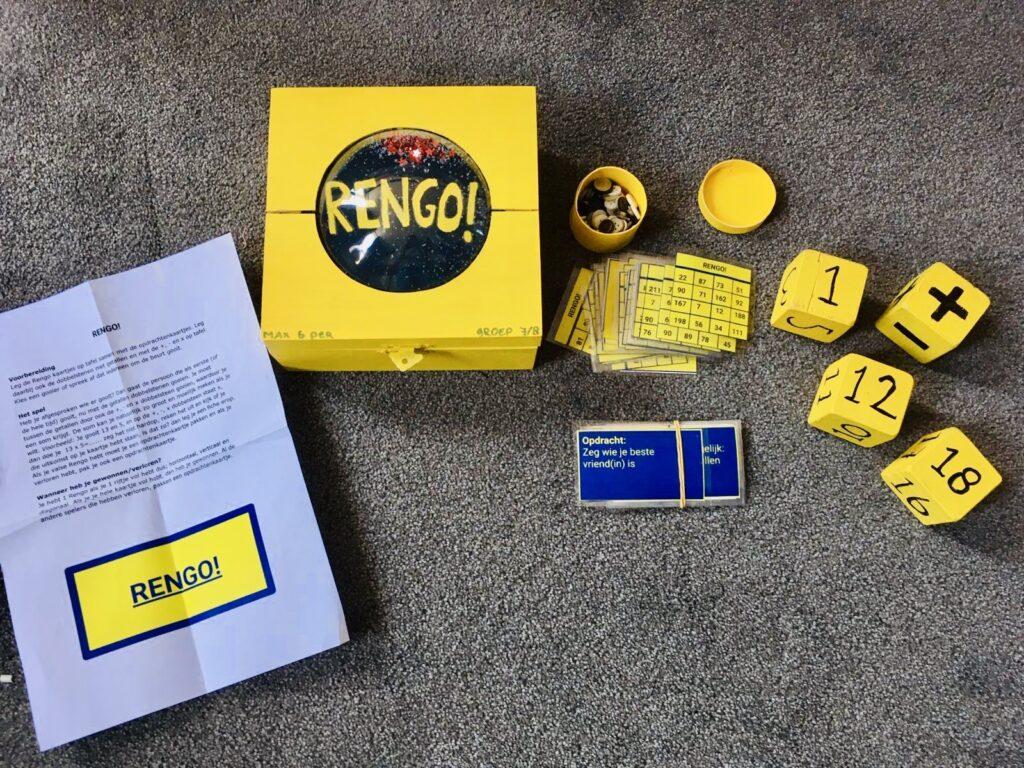 rekenspellenwedstrijd 3e prijs -  Rengo